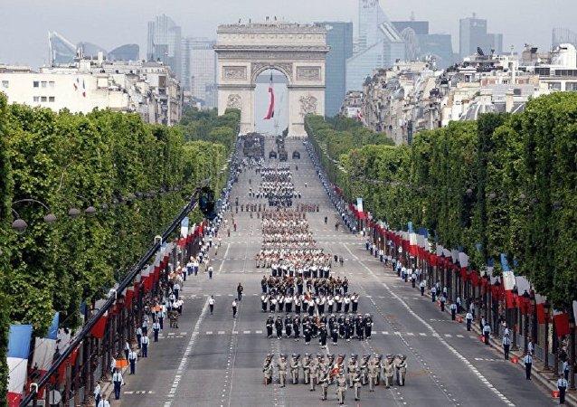 美军时隔15年首次参加法国国庆阅兵仪式