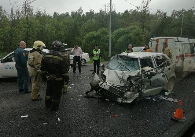 ДТП в Красногорске
