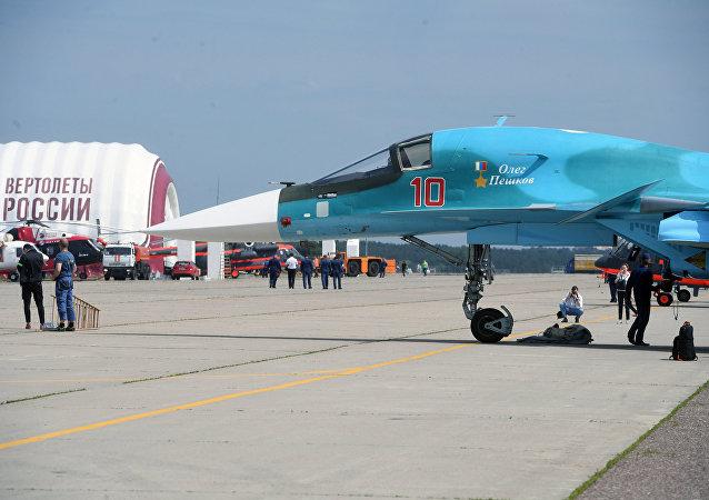 莫斯科州筹备国际航空航天展览会