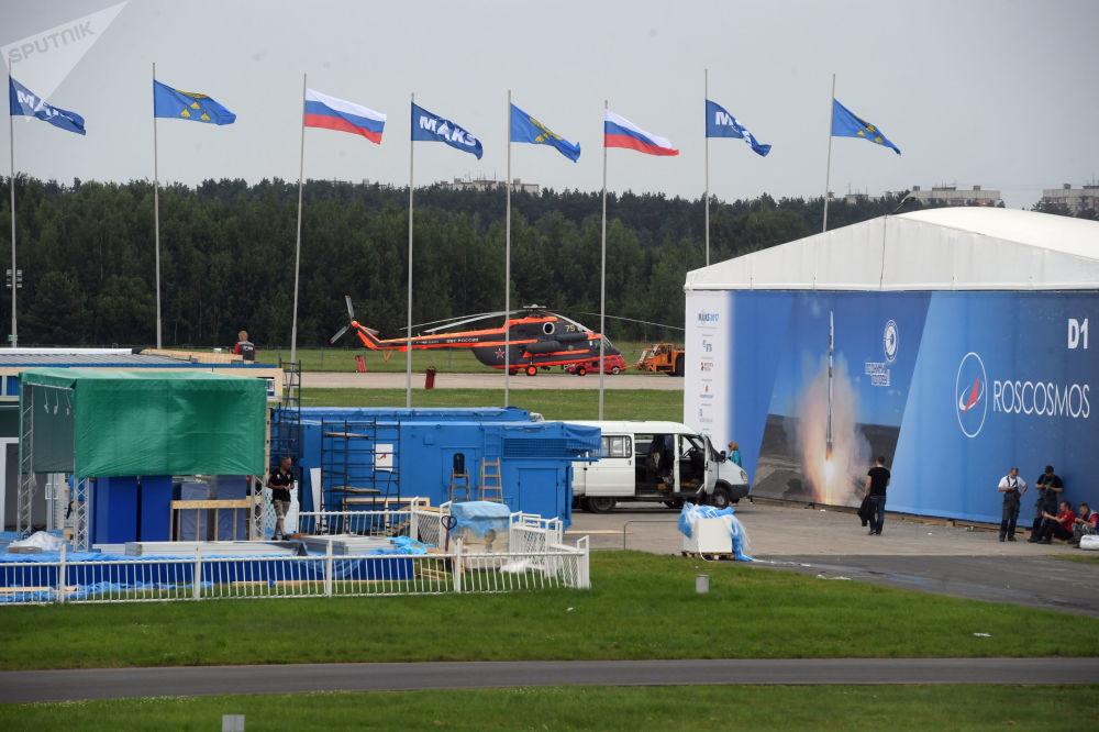 備戰2017年俄羅斯國際航空航天展覽會(MAKS)。