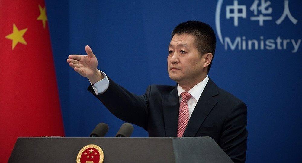 中国外交部新闻发言人陆慷