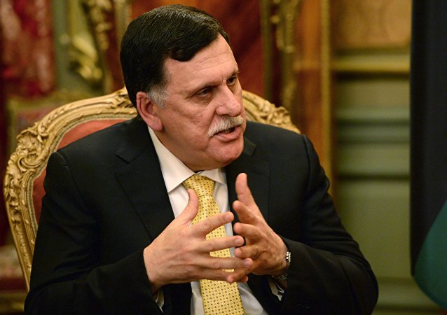 总部设在的黎波里的利比亚民族团结政府总理法伊兹·萨拉杰