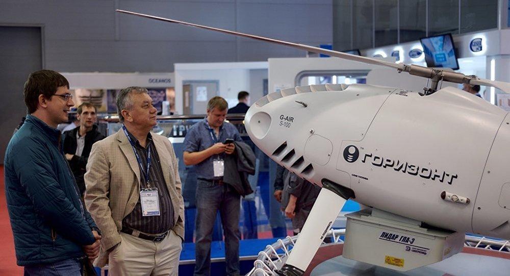 俄研制出自己的重型無人機