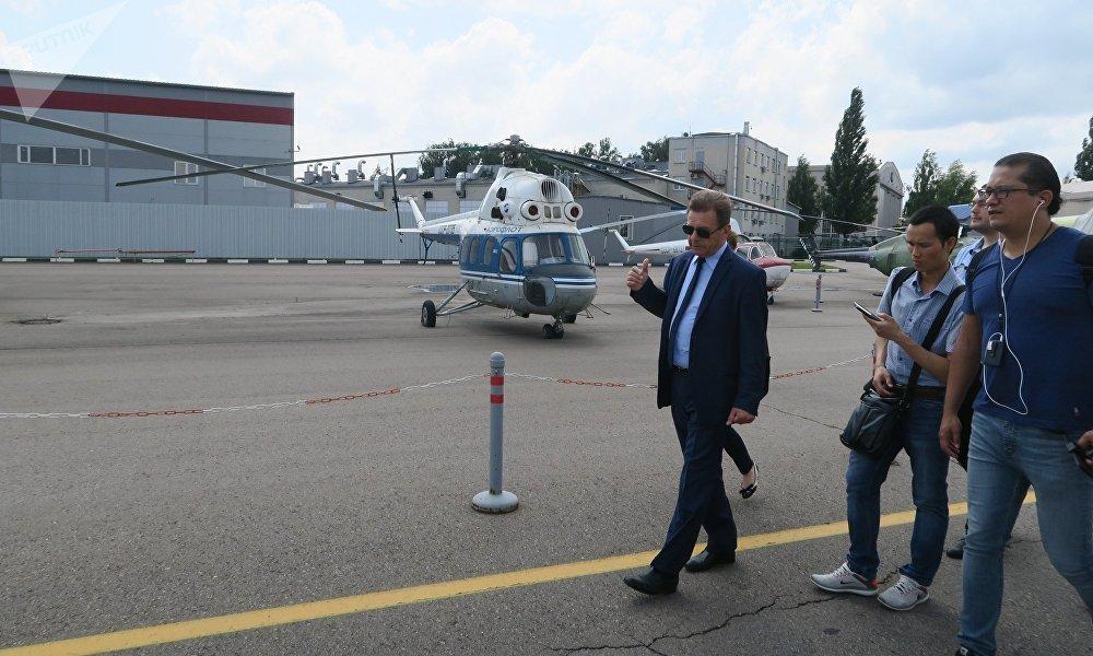 俄罗斯直升机控股集团总设计师尼古拉·帕夫连科