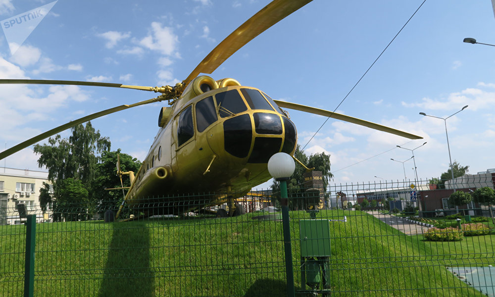 米8直升机