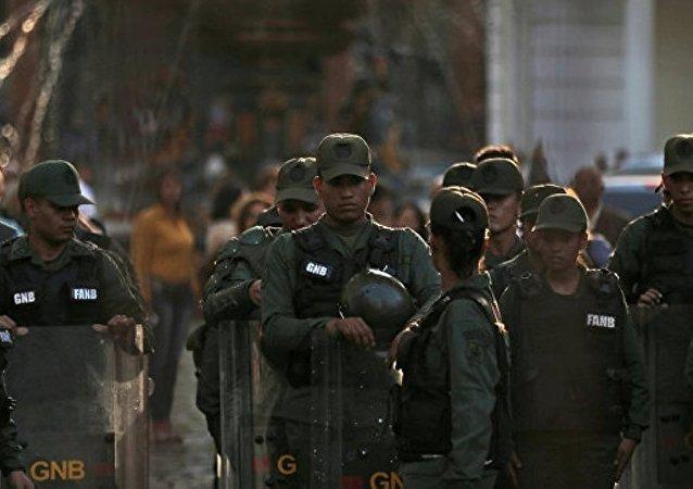 委内瑞拉20多人因骚乱和抢劫被抓