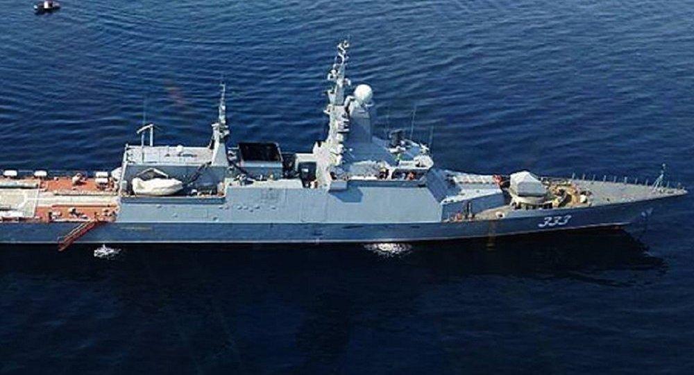 """最新式""""完善""""号护卫舰将加入太平洋舰队"""