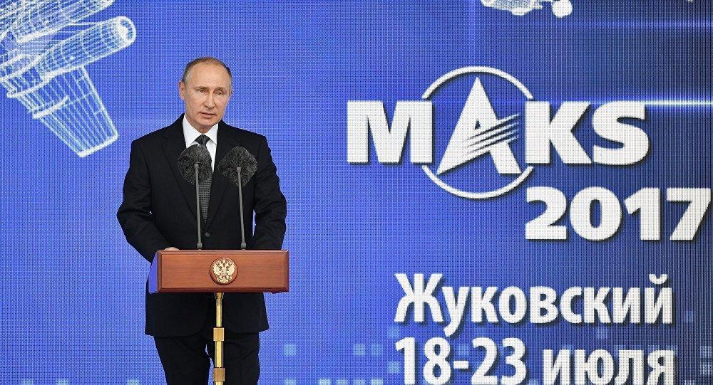 普京:莫斯科航展已达高水平