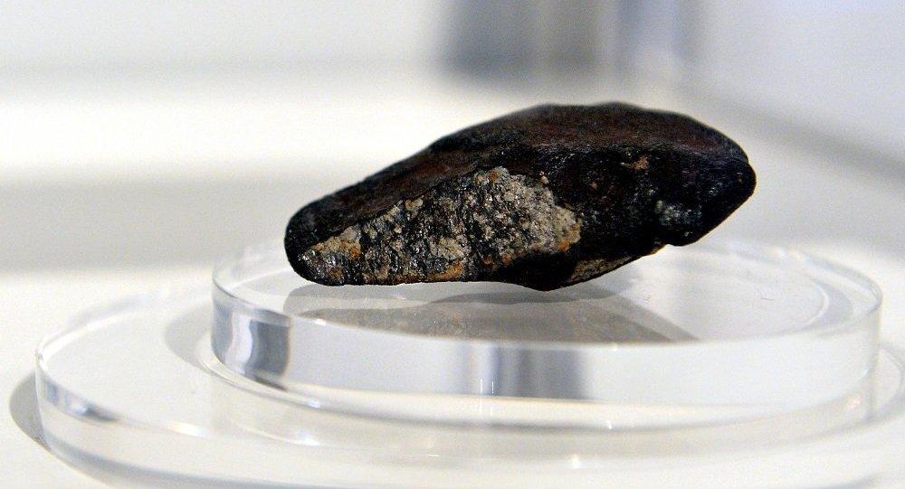 学者在坠落地球的陨石上发现生命迹象