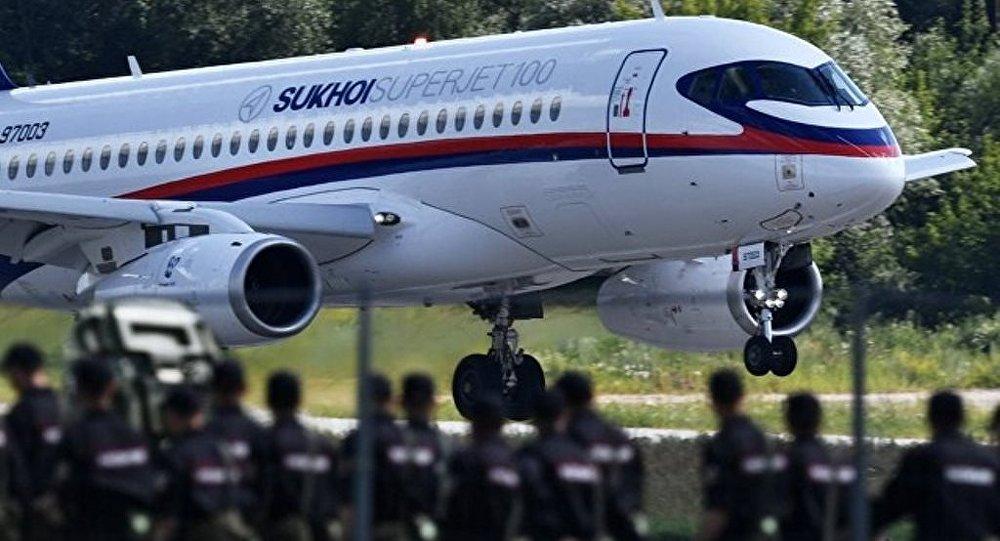 墨西哥英特捷特航空确认拟签约采购10架SSJ100飞机