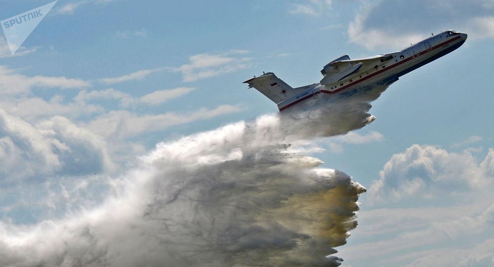 俄水陆两用飞机别-200