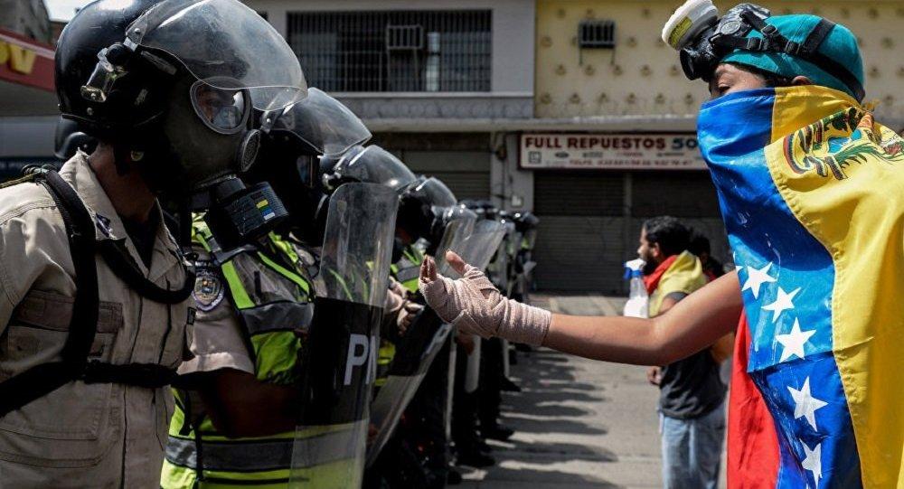 委内瑞拉自7月28日起在制宪大会选举前禁止街头抗议