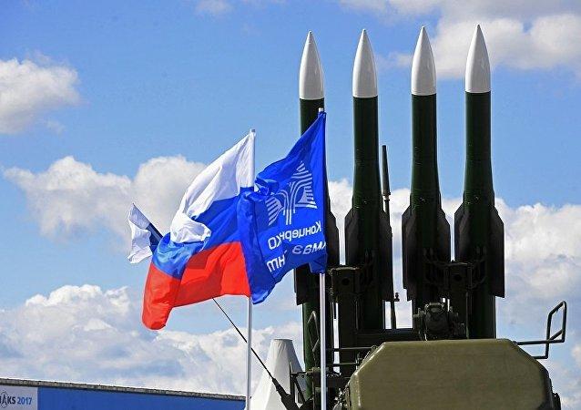 """俄防空系统"""" BUK-M2E"""""""