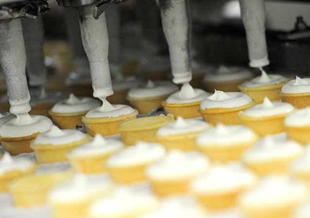 俄阿尔泰边疆区已向中国供应134吨冰淇淋