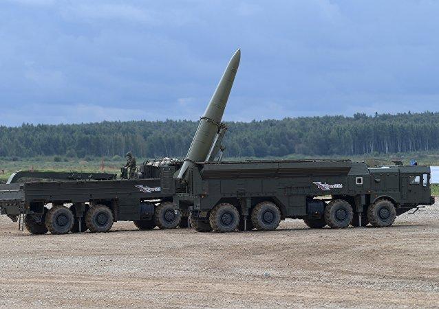 """""""伊斯坎德尔-M""""战役战术导弹系统"""