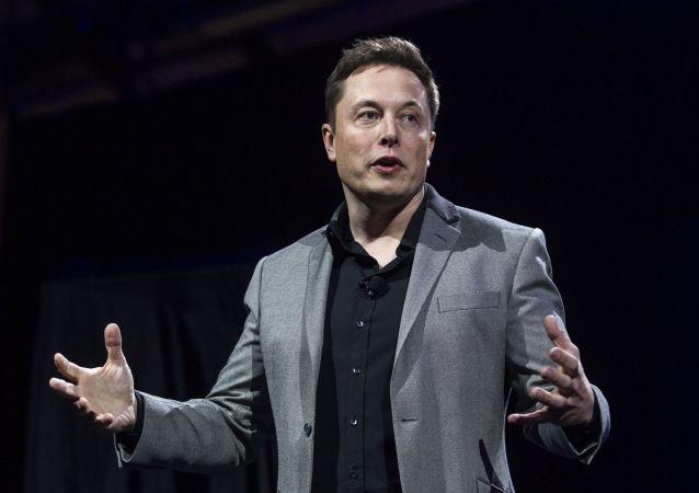 Основатель и руководитель Tesla Inc и SpaceX Илон Маск