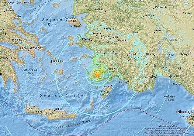 希腊地震导致100多人受伤,大部分是在科斯岛受的伤