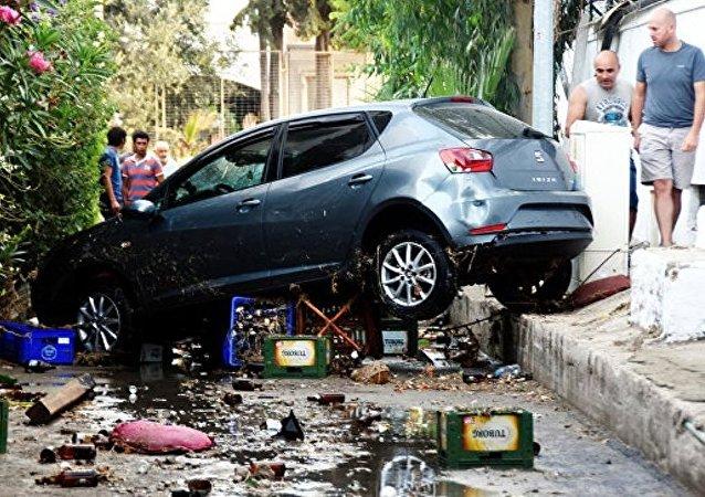 希腊科斯岛地震致一名瑞典人和一名土耳其人死亡