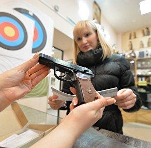 俄罗斯有430万人合法持有武器