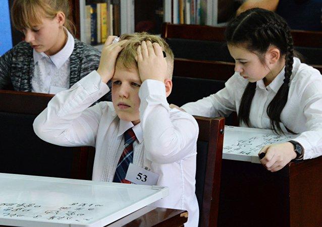 俄罗斯制定中学汉语学习大纲