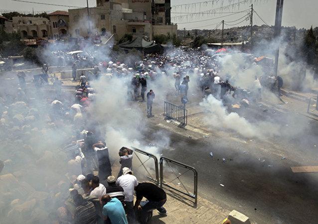 耶路撒冷抗议
