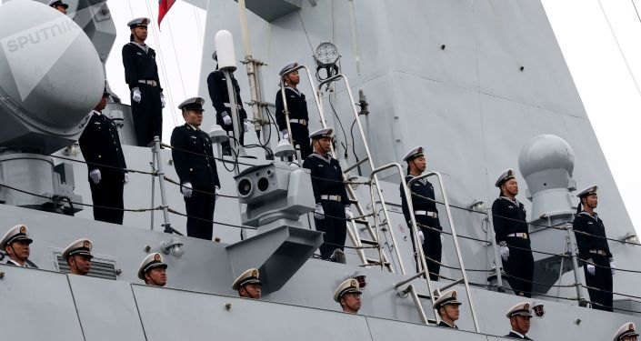 中國海軍艦艇編隊抵達印尼參加科莫多-2018多國聯演