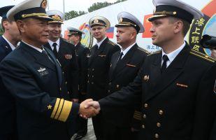 俄中在「北約內湖」舉行聯合軍演