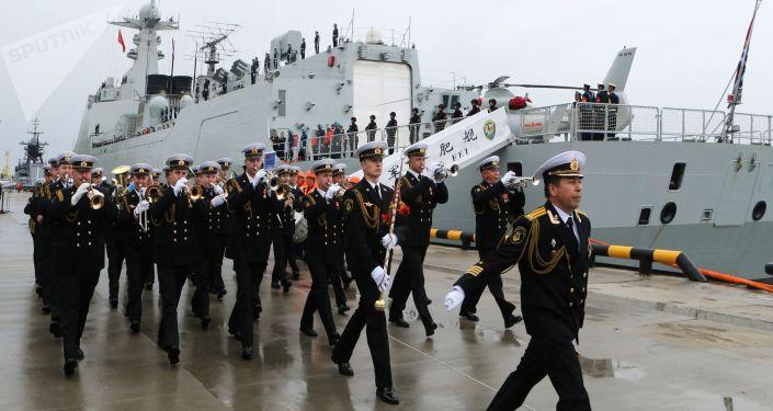 西方如何看待俄中海上聯演