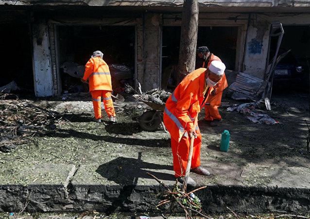 塔利班宣布为阿富汗首都致使24人丧生的爆炸负责