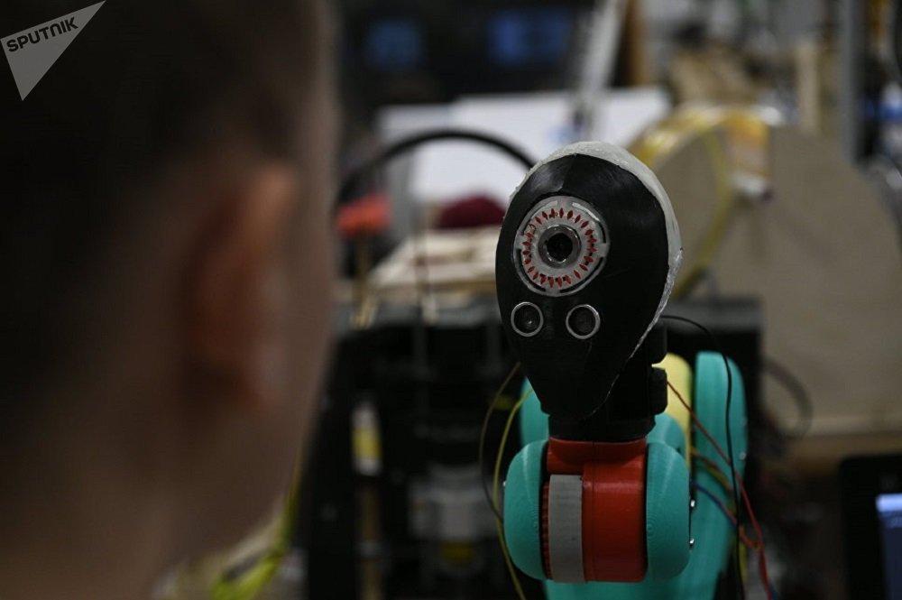 """未来房屋入口,可由严谨的""""守门人IRIS""""机器人看护。"""