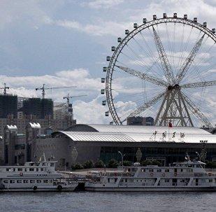 十一黄金周期间俄布拉戈维申斯克的中国游客数量激增