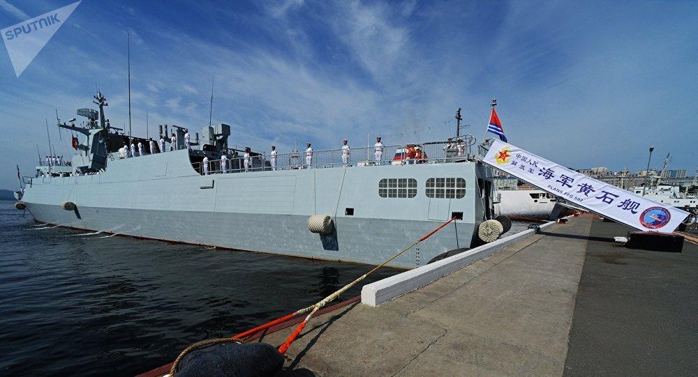 """中国海军""""黄石""""号护卫舰"""