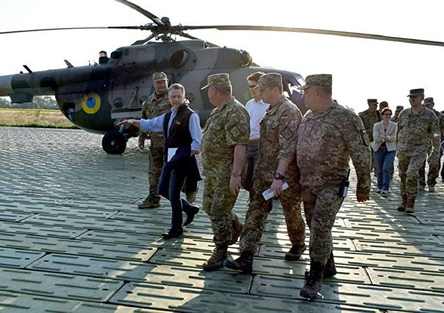 美国乌克兰问题特别代表沃尔克