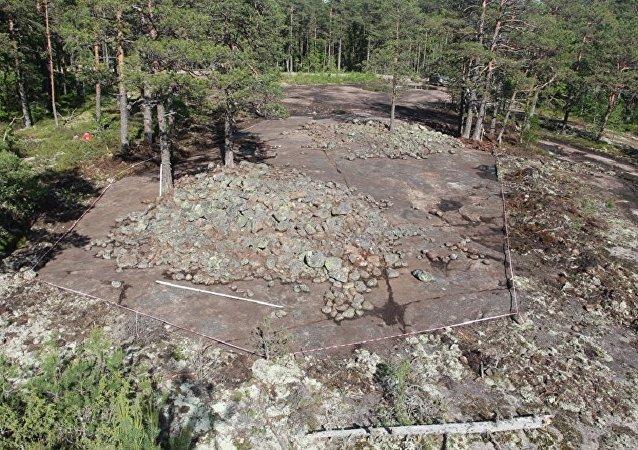 考古学家在维堡地下发现青铜时代墓葬群