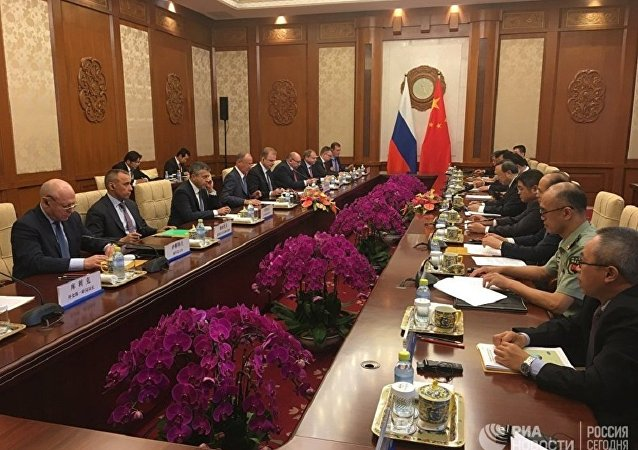 俄中战略稳定磋商在北京举行