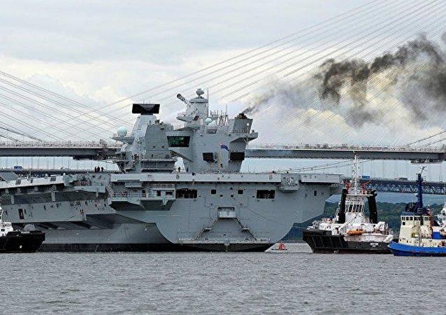 英国外交大臣:英将向南海派遣2艘新建造的航母