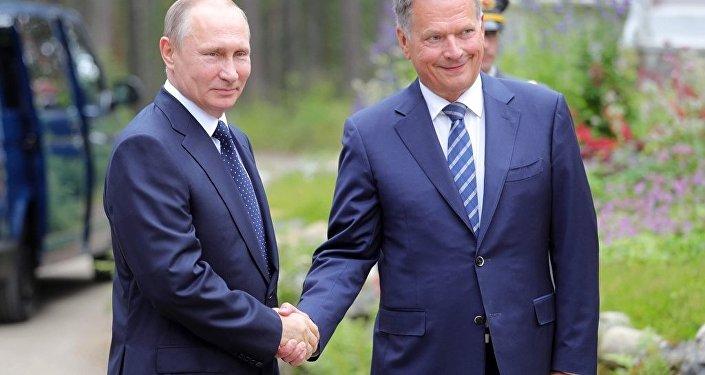 芬兰总统称俄芬关系呈活跃态势