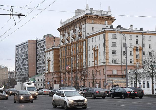 美国驻俄大使馆