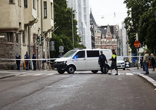 据警方消息,芬兰图尔库市多人受到刀伤