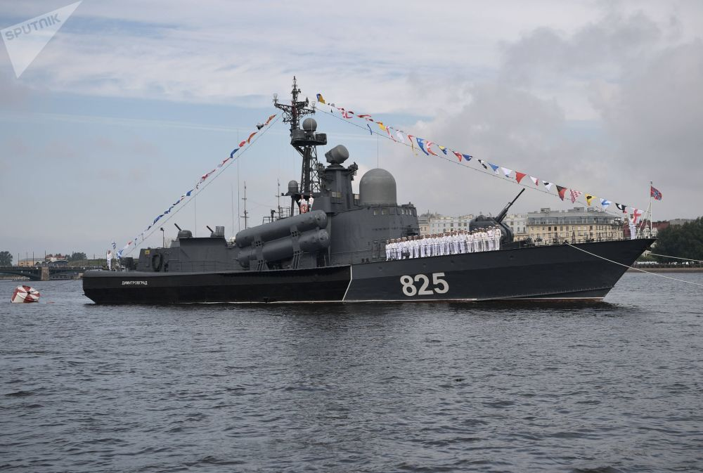 """""""季米特洛夫格勒""""号大型导弹快艇"""