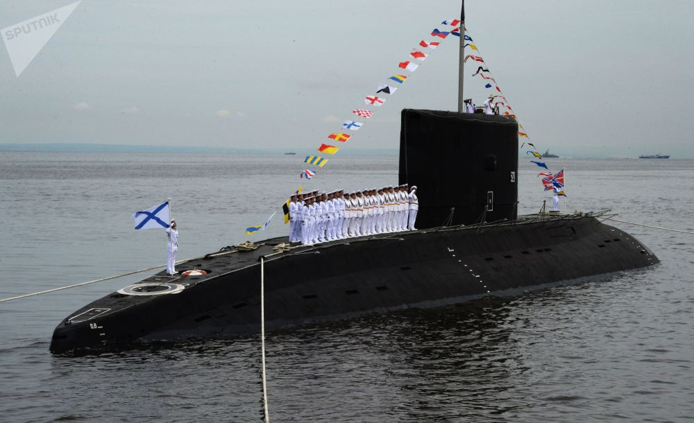 """""""瓦尔沙维扬卡""""级柴油潜艇"""