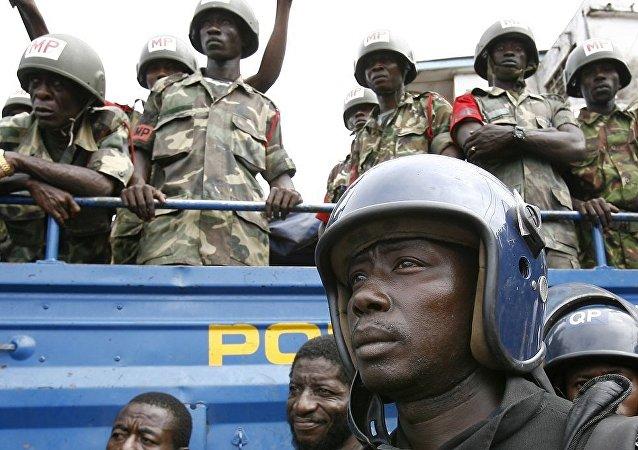 塞拉利昂警方禁止人们在街上跑步