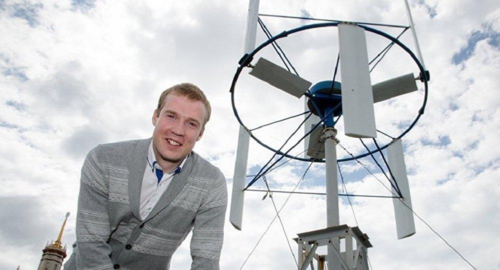 俄罗斯学者为北极制造永久的风力发电机