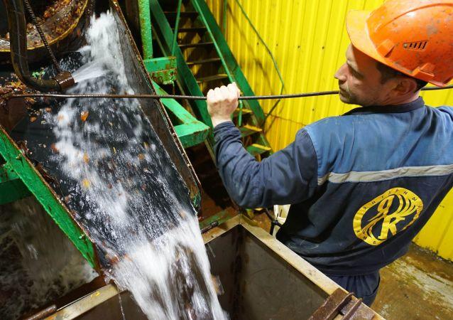 俄加里宁格勒琥珀联合公司开工复产