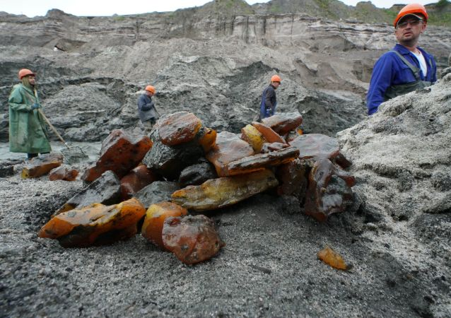 俄加里宁格勒今年将向中国出口360吨琥珀