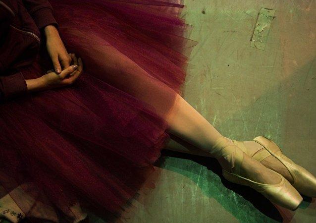 """中国中央芭蕾舞团参加""""马林斯基""""远东国际艺术节"""