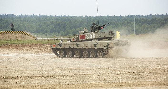 中國車組在「國際軍事比賽-2017」的坦克兩項比賽上因犯規遭罰
