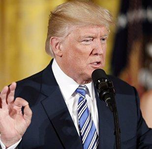 """特朗普希望大规模抗议活动后美国能够""""痊愈"""""""