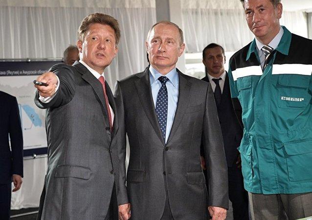 俄气总裁:阿穆尔天然气加工厂将成为世界上最大的氦气生产厂
