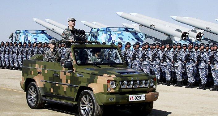 中國成為世界136個國家中軍事實力排行第三的國家